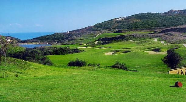 El campo de golf de Alcaidesa
